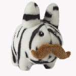 Plush Labbit - Zebra 'Stache 7-Inch