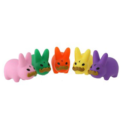 Mini 'Stache Labbit-Individual-Green