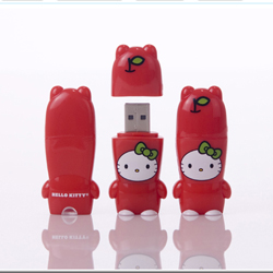 Mimobot Hello Kitty Apple Flash Drive 2GB