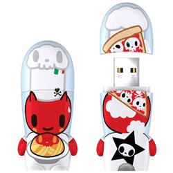 Mimobot Tokidoki Pastaio Flash Drive 4GB