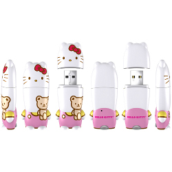 Mimobot Hello Kitty Teddy Bear Flash Drive 4GB