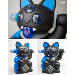 Misfortune Cat [Black and Blue]