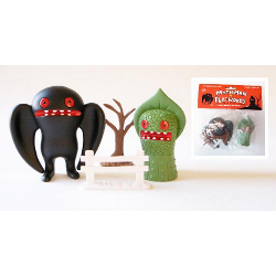 Mothman vs Flatwoods Monster Play Set