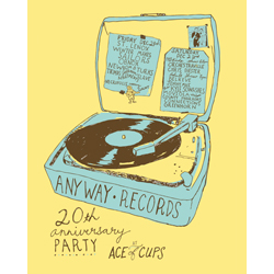 Anyway Records 20th anniversary