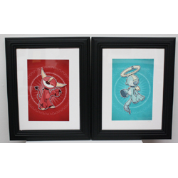Angel & Devil (print only, set of 2)