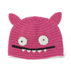 Uglydoll Ice-Bat Hat pink