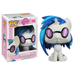 POP My Little Ponies DJ Pon-3
