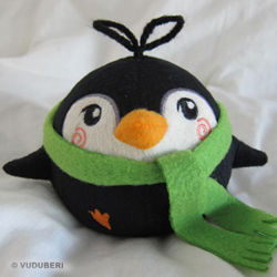 Pygmy Penguin - Moe (green)