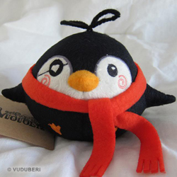 Pygmy Penguin - Argh (red)