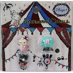 San-X Sentimental Circus Magnet Set - 02