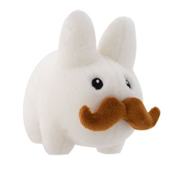 Happy Stache Labbit Plush 7-inch