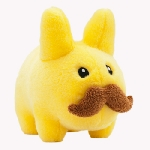 Stache Labbit Plush - Yellow Edition
