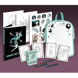 Tara McPherson's Somewhere Under the Rainbow Coloring Kit