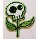 Tara McPherson Patch - Skull Flower
