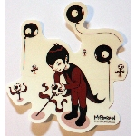 Tara McPherson Sticker- George