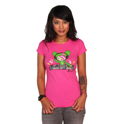 Tokidoki Women's Dj Sandy T-shirt Small