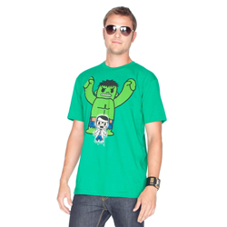 Tokidoki Men's Marvel Hulk T-shirt Medium