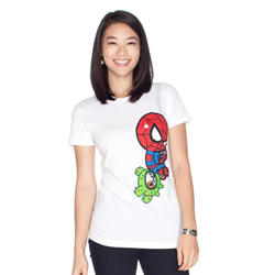Tokidoki Women's Marvel Spiderman T-shirt Large