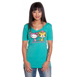 Tokidoki Women's Hello Kitty Hello Kittens T-shirt Small