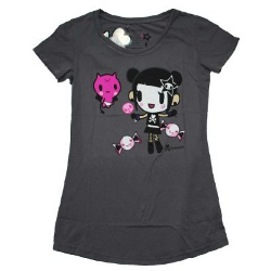 Tokidoki Women's Devil Candy Storm T-shirt- Small