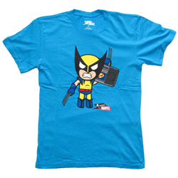 Tokidoki x Marvel Boombox Wolverine Tee - Mens Medium
