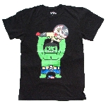 Tokidoki x Marvel Throw Down Hulk Wrestler Tee - Mens Medium