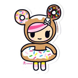 Tokidoki Sticker - Donutella
