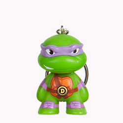 TMNT Teenage Mutant Ninja Turtle keychain - Donatello