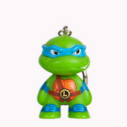 TMNT Teenage Mutant Ninja Turtle keychain - Leonardo