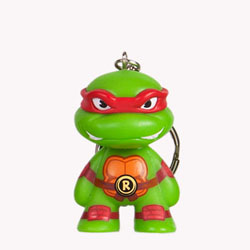 TMNT Teenage Mutant Ninja Turtle keychain - Raphael