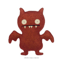 Uglydolls Little Uglys - Ice Bat Red