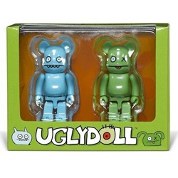 Bearbrick Uglydoll Ox and Icebat