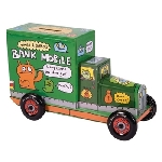 Uglydoll Tin Truck - Green Coin Bank