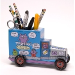 Uglydoll Tin Truck - Blue Pencil Holder