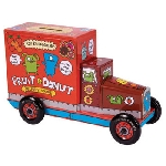 Uglydoll Tin Truck - Red Coin Bank