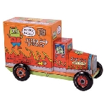 Uglydoll Tin Truck - Orange Coin Bank