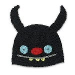 Uglydoll Ninja Batty Shogun Hat - Black