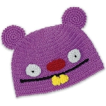 Uglydoll Beanie Trunko Hat Purple