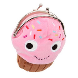 Yummy Coin Purse - Sprinkles Cupcake