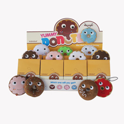 Yummy Donut Mini Plush - Case of 12