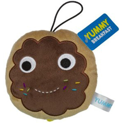 Yummy World Brown Donut Small Plush